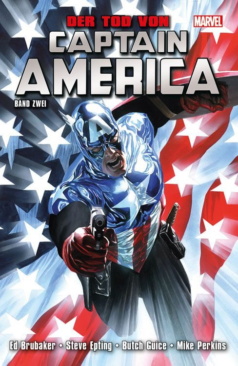 Captain America Tod