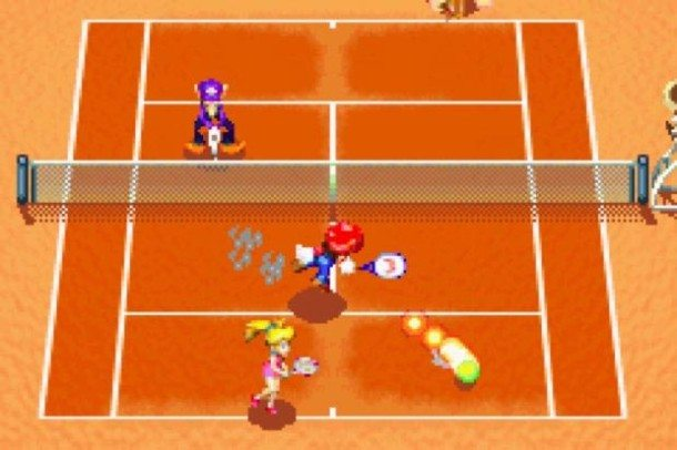 mario power tennis 2