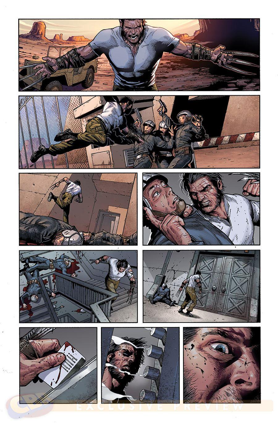Wolverine Stirbt