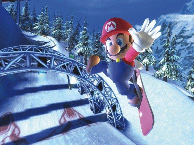 Auch EA lässt Mario sporteln: In SSX on Tour (GameCube, 2005) und NBA Street V3 (2005, GC) durften Nintendo-Spieler mit Mario, Luigi und Peach aufs Snowboard steigen beziehungsweise mit ihnen gegen NBA-Größen Basketball spielen.